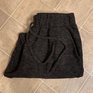 Liz Claiborne Black/Charcoal Sweatpants